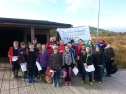 Visit to Griston Bog as part of the Discover Primary Science programme