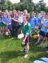 Our camogie captain lifting the cup in Martinstown