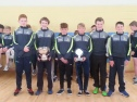 Past and current pupils from the Féile 2016 All Ireland U14 winners team