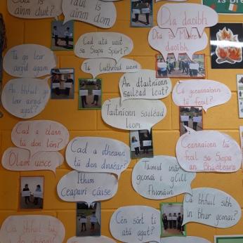 Wall Gaeilge